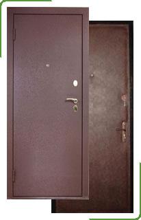 металлическая дверь эконом для дачи