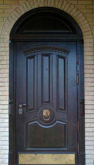 входные парадные арочные двери в коломне