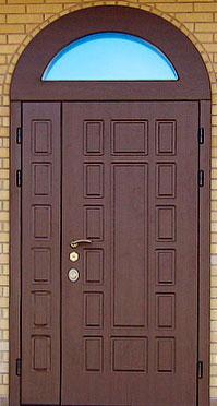 входные стальные двери арочные