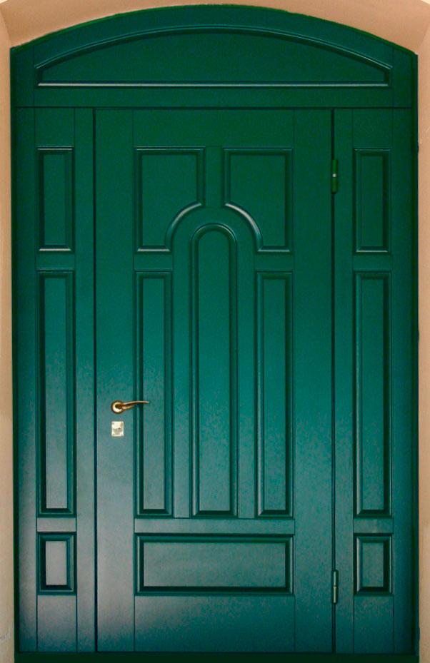 двери входные уличная арочные
