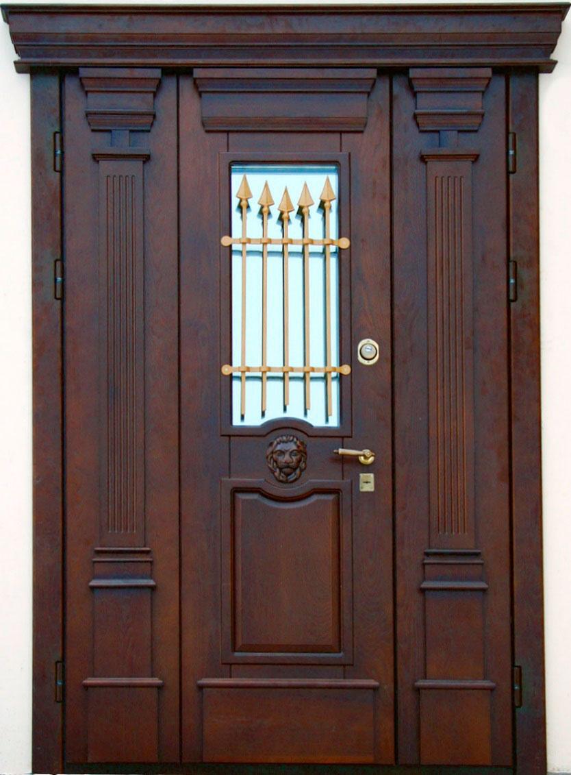 купить входная дверь с массивом