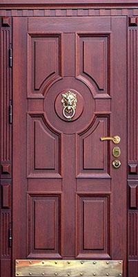 дверь входная со стучалкой