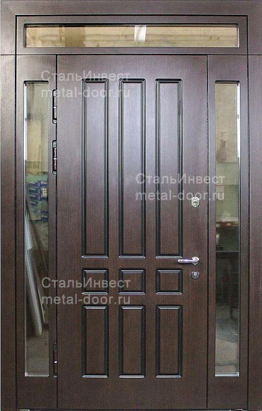 стальные двери со стеклопакетом купить