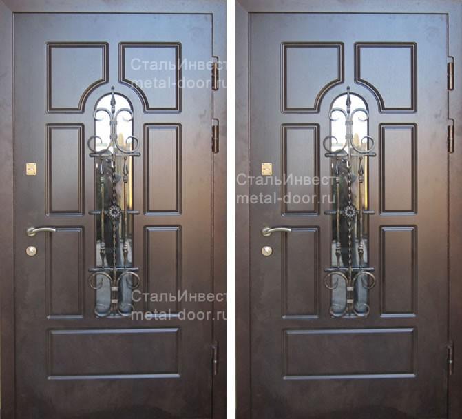 стеклопакет для металлических дверей