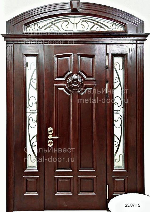эксклюзивные железные двери ковка цена
