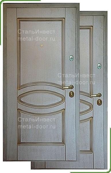 дверь металлическая 2100 1200
